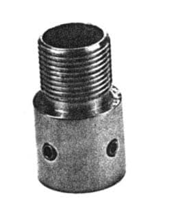 Adapter Rustfritt For Rørmontering 25mm